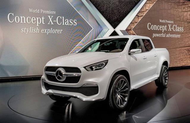 Mercedes-Benz X-Class 2018 Đắt Khách Dù Chưa Ra Mắt
