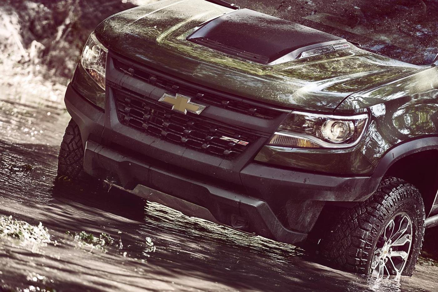 Chevrolet Colorado ZR2 2017 Giá Từ 40.995 USD