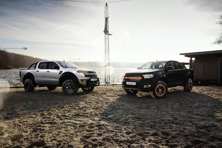 Ford Ranger Độ Theo Phong Cách Dân Chơi