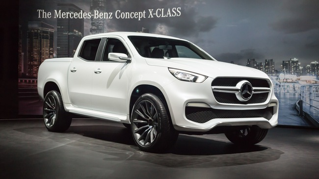 Cận cảnh bán tải hạng sang Mercedes-Benz X-Class