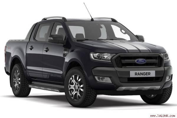 Ford Ranger Wildtrak phiên bản Jet Black ra mắt tại Malaysia