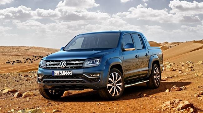 Xe bán tải Volkswagen Amarok 2017 được công bố giá bán