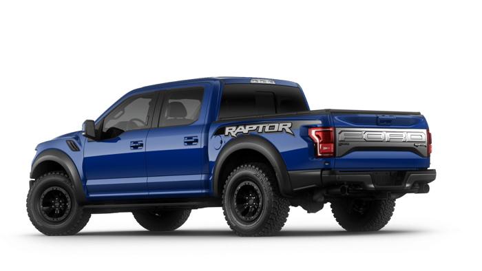 Mẫu xe Ford F-150 Raptor 2017 đắt nhất sẽ có giá 72.965 USD