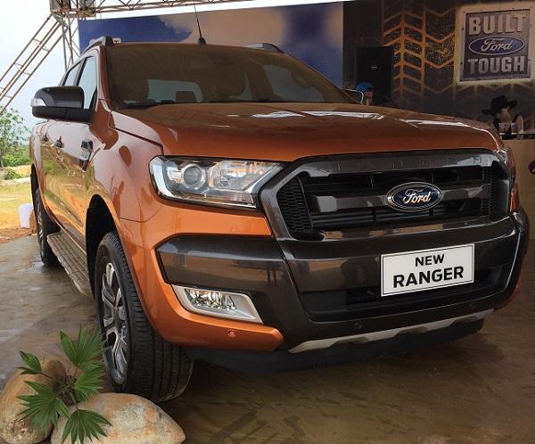 Mức Giá Mới Nhất Cho Các Bản Ford Ranger 2017