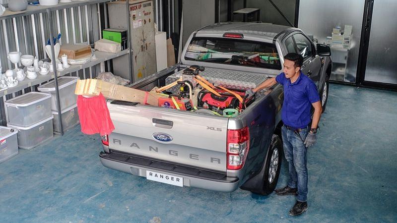 Xe bán tải được chở hàng cao bao nhiêu?