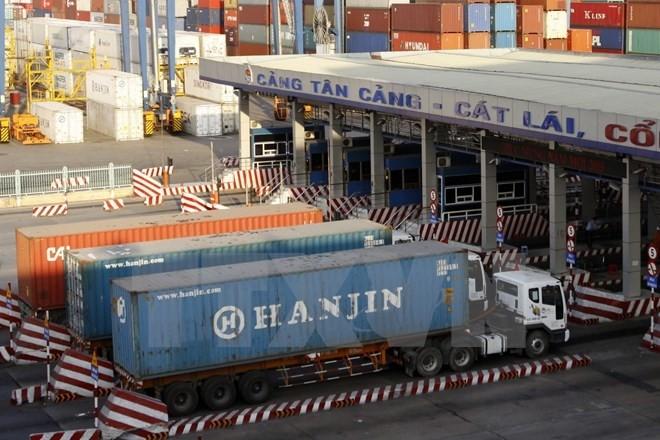 Xe container 40 feet dài bao nhiêu mét?