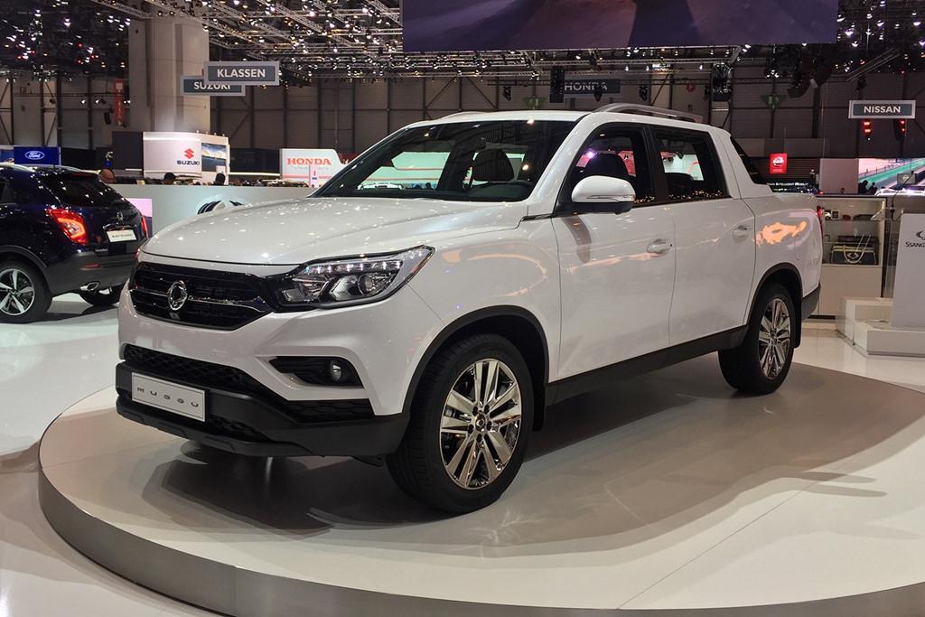 Ssangyong Musso xe bán tải có xuất xứ từ Hàn Quốc sẽ cạnh tranh với Ford Ranger