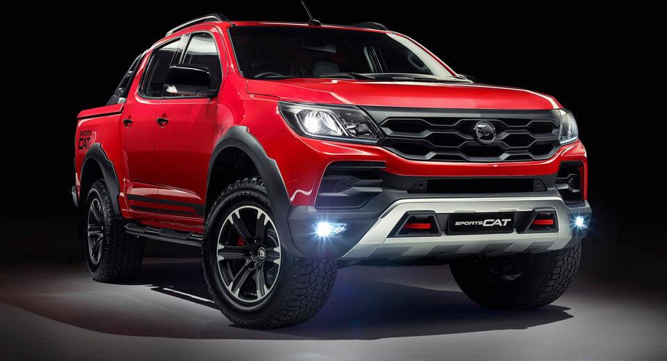 Xe bán tải cạnh tranh với Ford Raptor mang tên là Holden Colorado SportsCat