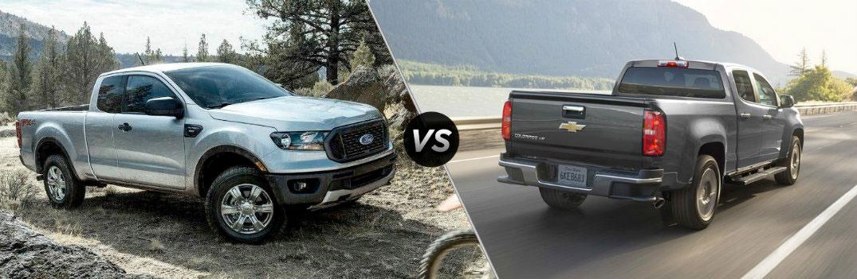 So sánh xe bán tải Chevrolet Colorado 2019 và Ford Ranger 2019