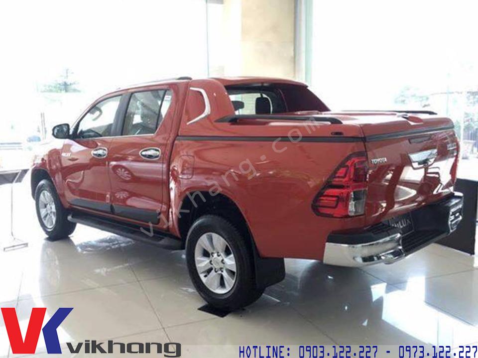 Nắp Thùng Xe Bán Tải Toyota Hilux Revo - VKTOP
