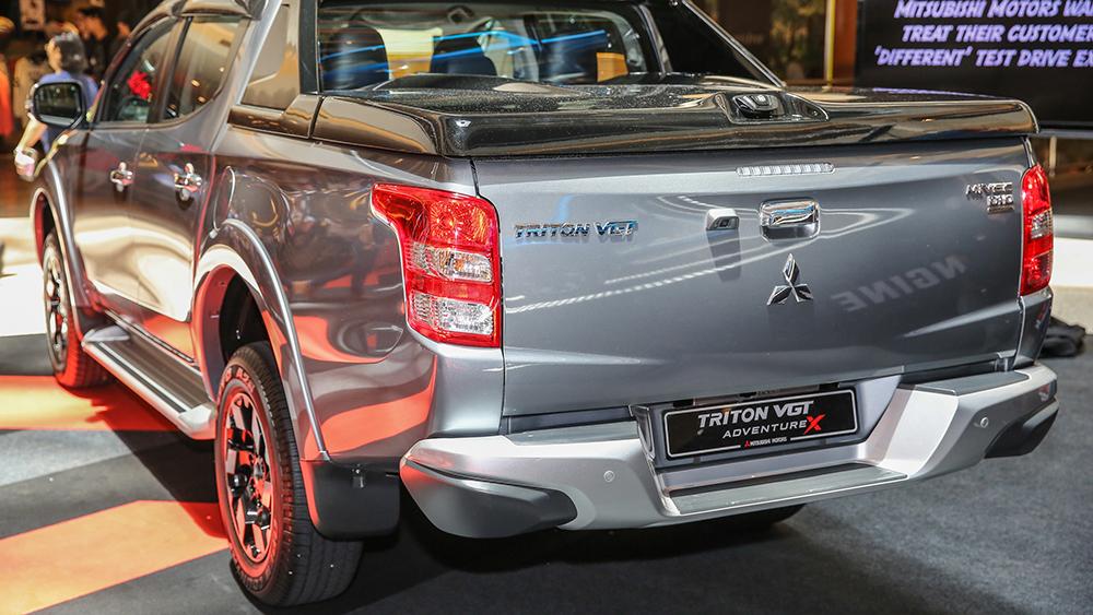 Mitsubishi Triton Nâng Cấp Thêm Trang Bị An Toàn Tại Malaysia