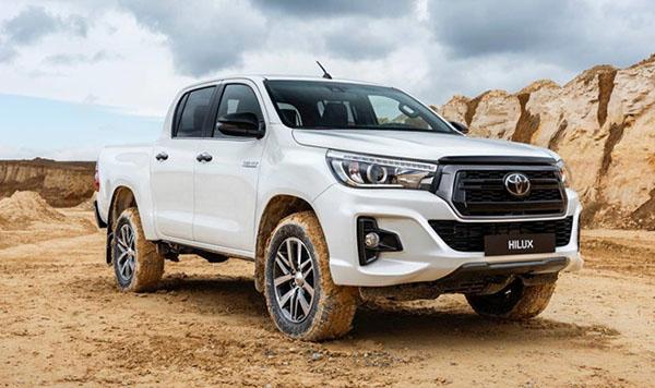 Toyota Hilux sắp ra mắt bản đặc biệt
