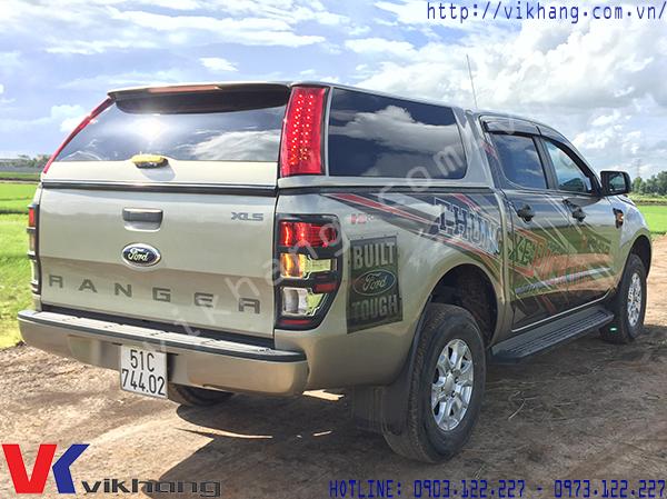 Nắp Thùng Xe Bán Tải Ford Ranger Bán Chạy Nhất Quý III/2017