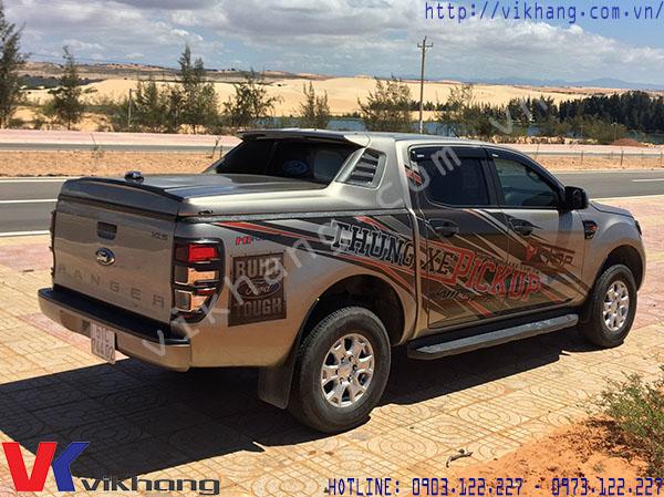 Các sản phẩm nắp thùng xe bán tải Ford Ranger ưa chuộng đầu năm 2017