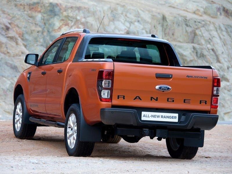 Ford Ranger tốn bao nhiêu lít dầu cho 100km?