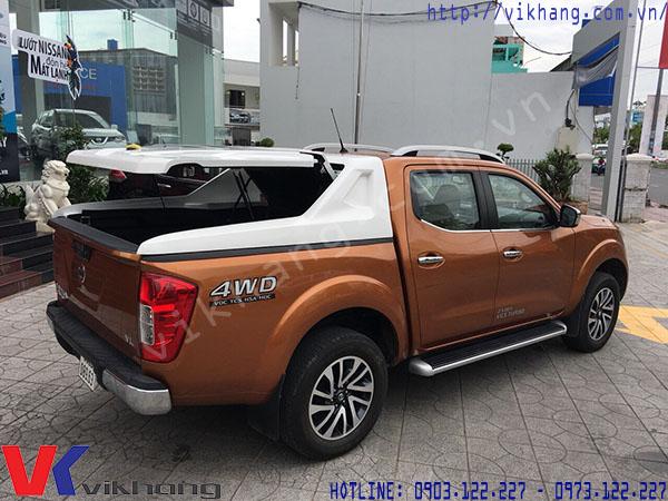 Kích thước thùng xe  pick up Nissan Navara