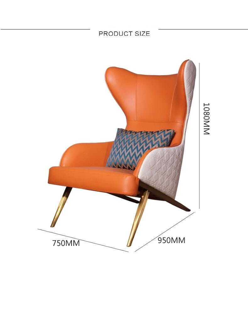 AMOS ACCENT CHAIR