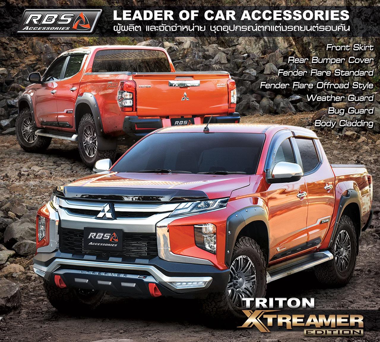 Body kit triton 2020