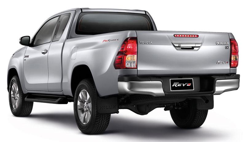 Nắp thùng thấp Toyota Hilux Revo 2018