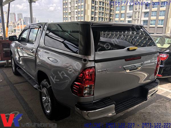 Nắp thùng cao xe bán tải Toyota Hilux Revo 2018