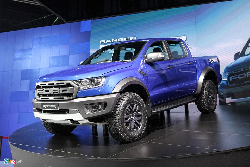 Nắp thùng xe bán tải Ford Ranger Raptor 2018