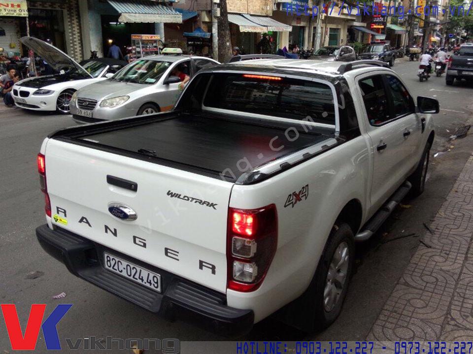 Nắp Thùng Cuộn Carryboy Ford Ranger Wildtrak
