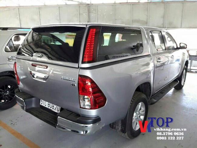 Thùng Xe Bán Tải Toyota Hilux - TCO-1